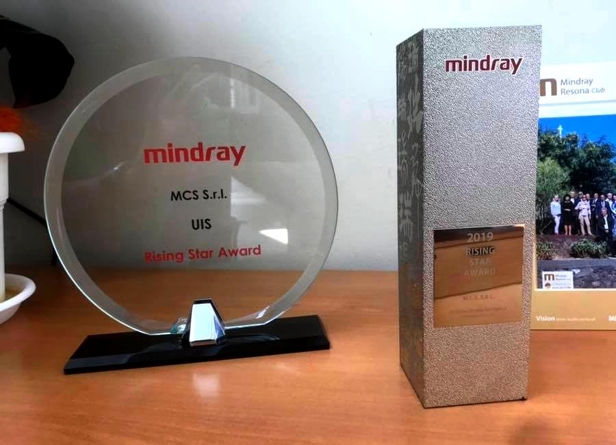 """Premio """"Stella Nascente"""" Mindray"""